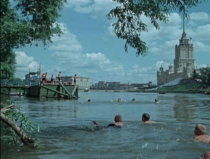 "Гостиница ""Украина"", 1956 год. Думаем, комментарии излишни."