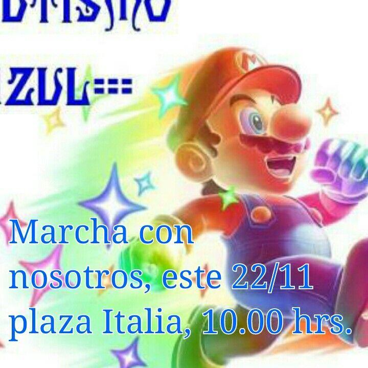 Marcha por los Derechos de las Personas con Autismo.===