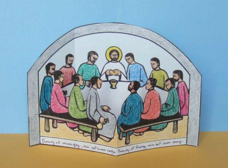 knutselwerkje Het laatste avondmaal Bible craft The last supper