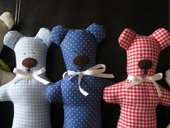 Tilda's teddy bear Gift for babies and toddlers Made by euquefiz, €10.00
