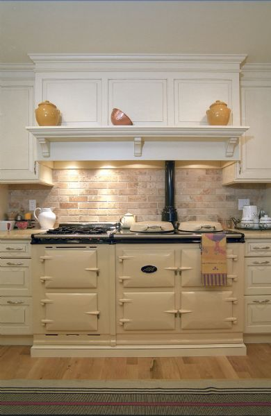 "48"" stove with Mantel for seasonal decor"