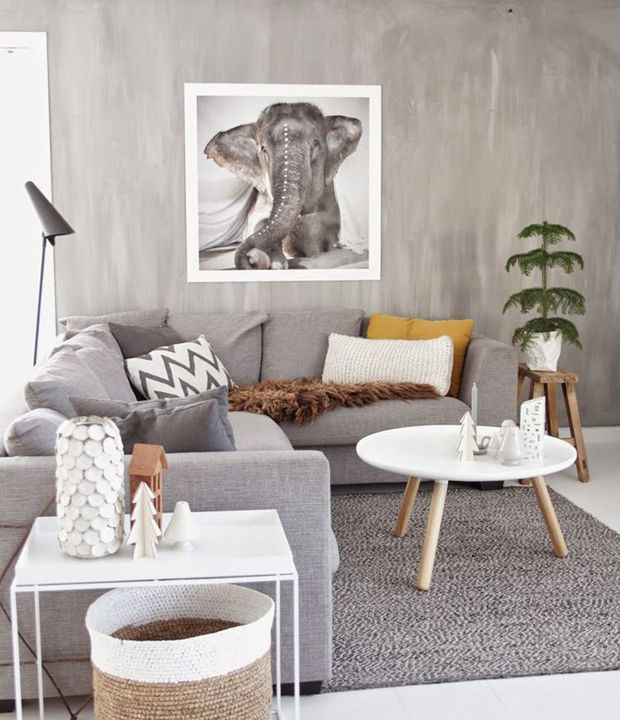 The 10 commandments for styling a living room