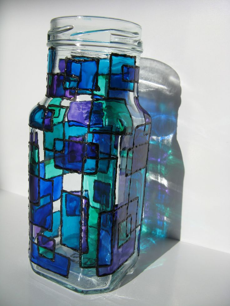 Stained glass paint -I want to do this on the upstairs bathroom window!