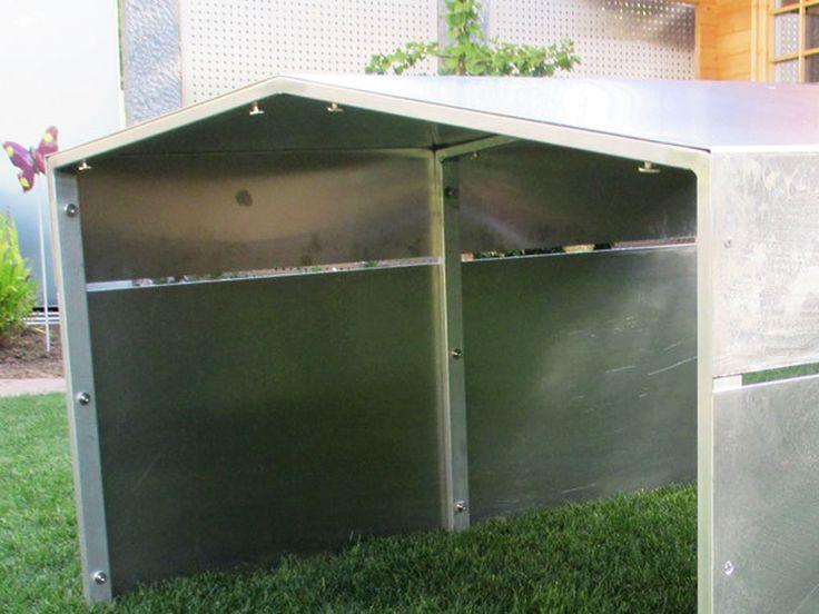 m hroboter garage mowerhat 3020 f r gro fl chen rasenroboter aluminium m hroboter garage. Black Bedroom Furniture Sets. Home Design Ideas