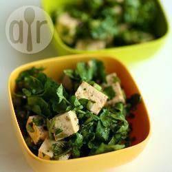 Salade Van Tofu En Waterkers Recipe on Yummly