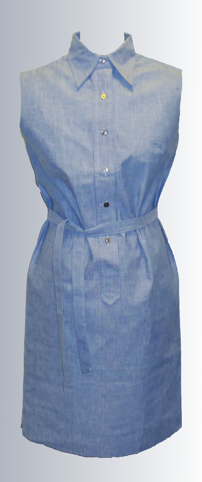 1960s Cotton Summer Shirt Dress from www.sixesandsevensvintage.com at £18.00  Size 10.