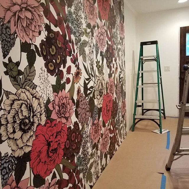 Peel And Stick Wallpaper Is A Great Material To Put Up On The Wall Reuse If Needed Very Easy For Di Wall Murals Painted Diy Kids Room Wall Decals Wall Murals