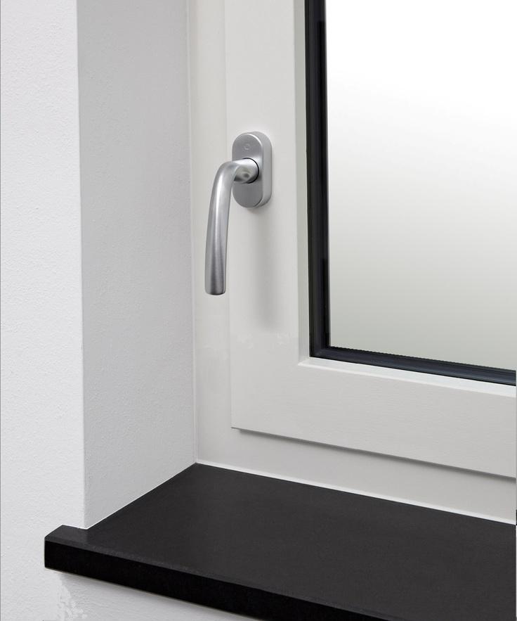 ALPIfinestra A40, finestra in legno-alluminio