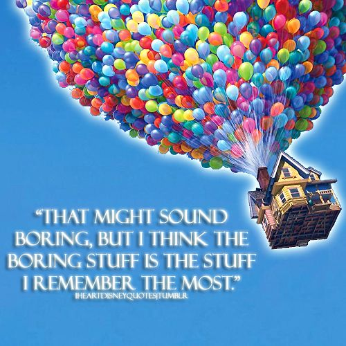 Disney's Up. I was sobbing within the first 10 minutes. Not a lot of movies can make me do that, so you know it's a great one.