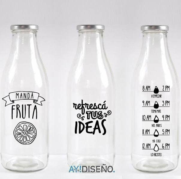 Vinilos Botellas - comprar online