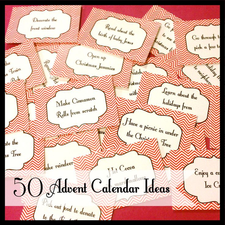 Best Advent Activities Images On   Advent Calendar