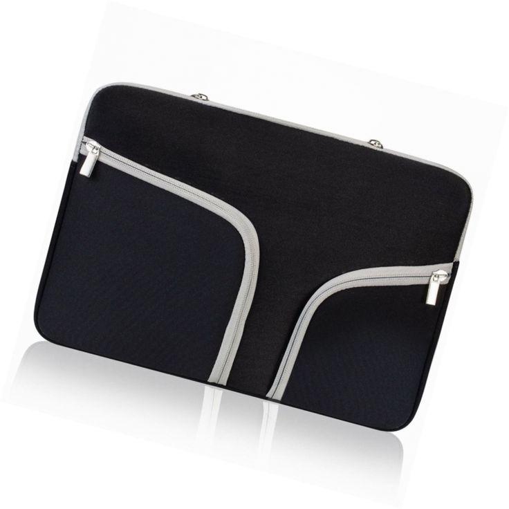 "Ivencase 13-Inch Neoprene Laptop Sleeve with Zipper for MacBook Pro 13.3"" Retina"