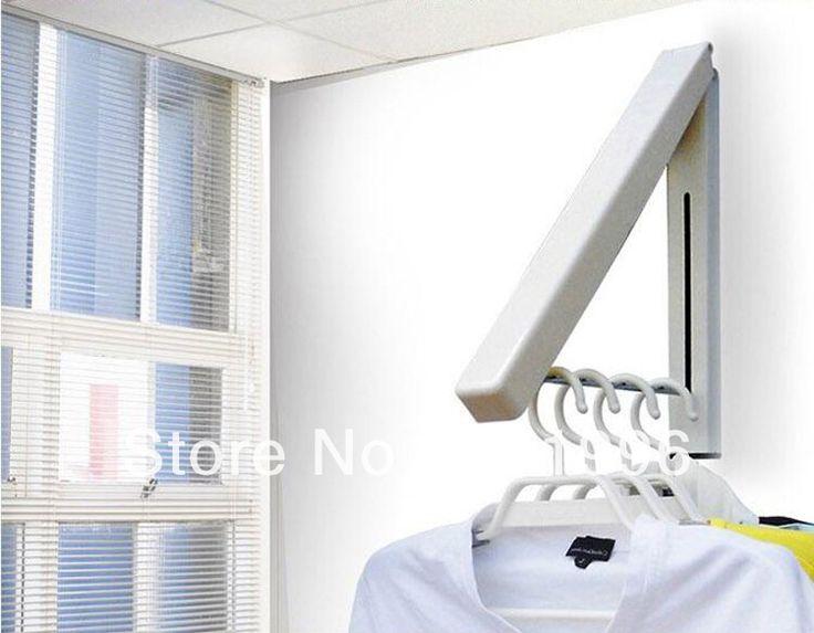 Cheap Accesorios de baño plegables Mini colgador de montaje retráctil percheros varillas interior colgadores de toallas perchero envío libre, Compro Calidad Perchas y Exhibidores directamente de los surtidores de China:                               Escudo Invisible rack Bastidores Mini montaje en pared retráctil de alum