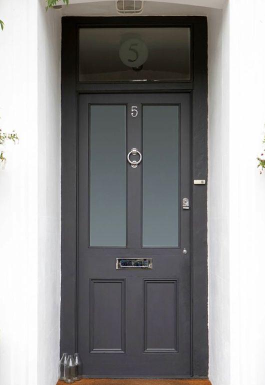 victorian front doors black - Google Search