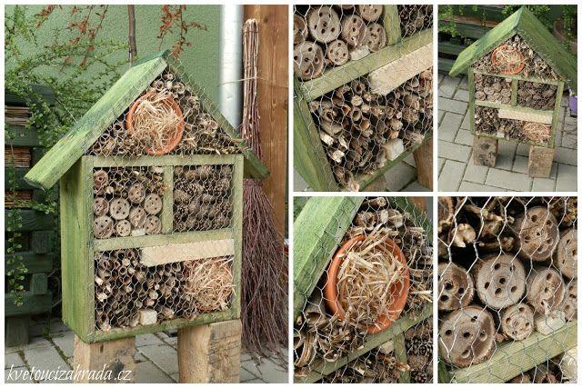 AGNIESZKA a její kratochvíle: Hmyzí domeček