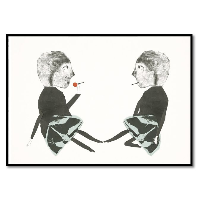 ARTWORK 42x59,4 cm. - Bob Noon
