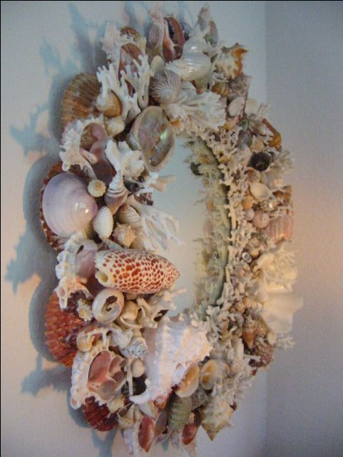 decorating mirrors with shells california sea shell mirror for sale antiquescom