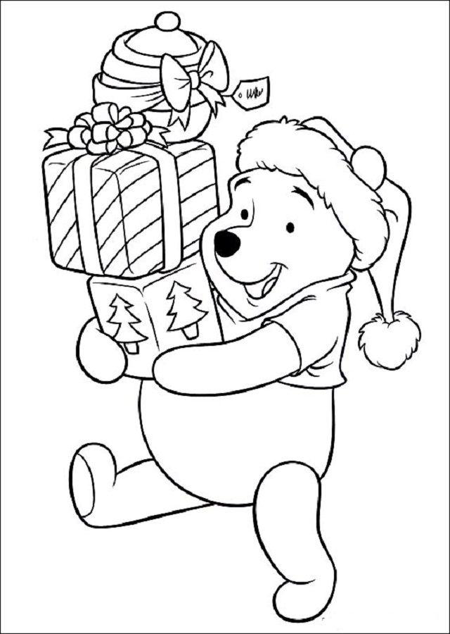 Dibujos Para Pintar Winnie The Pooh Dibujos Para Colorear Paginas Para Colorear Disney Libro De Colores Hojas De Navidad Para Colorear
