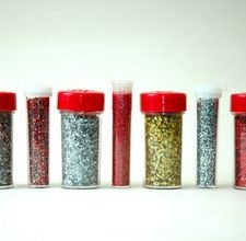 How to make your own glitter that you can use in decorating as well as in baking or to decorate food.