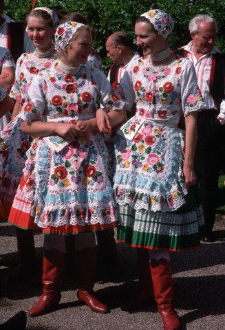 Hungarian handmade embroidery