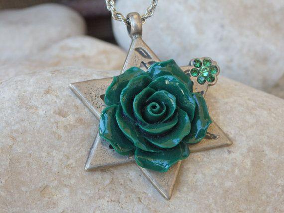 Star of David necklace,Star of David pendant,Judaica #jewelry #necklace @EtsyMktgTool http://etsy.me/2zNO1PN