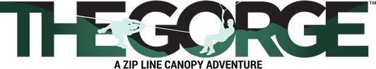 The Gorge offers zip line tours through the canopy of North Carolina's Mountains near Saluda North Carolina. Virtually tour the facility by clicking on the logo!