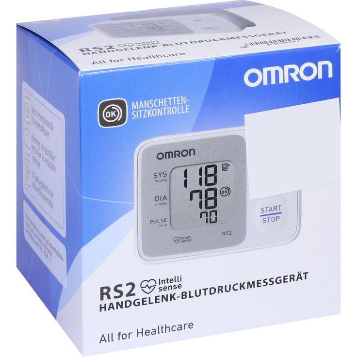 OMRON RS2 Handgelenk Blutdruckmessgerät vollautom:   Packungsinhalt: 1 St PZN: 01476182 Hersteller: HERMES Arzneimittel GmbH Preis: 23,96…