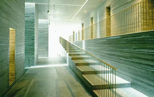 The Therme Vals / Peter Zumthor STAIRWAY