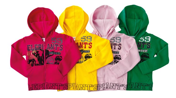 These coloured hoodies are comfy and cute any day of the week.