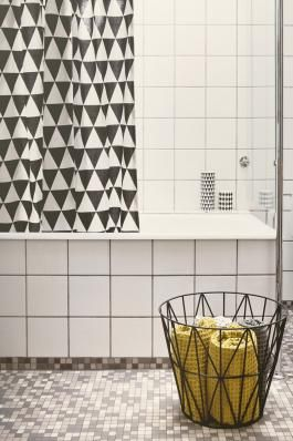 Ferm Living - Shower curtain - triangle
