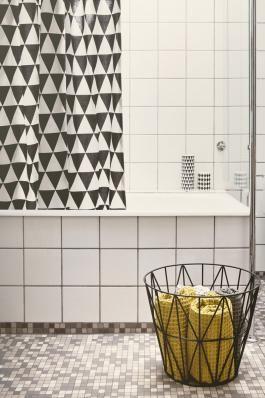 Ferm Living - Shower curtain - triangle