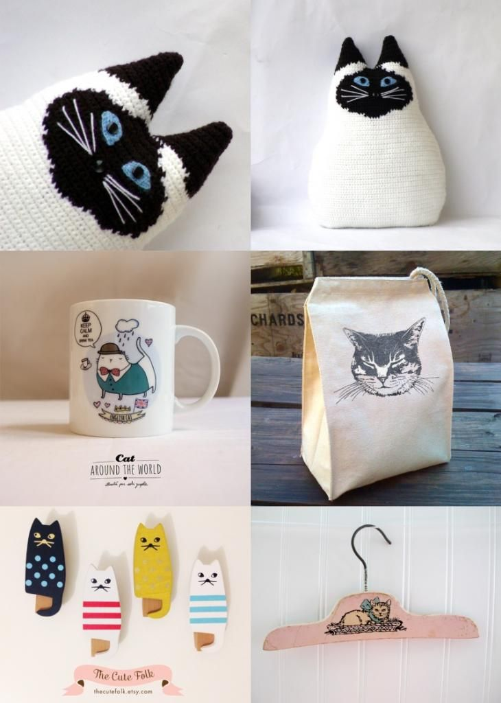 36 retro cats gifts