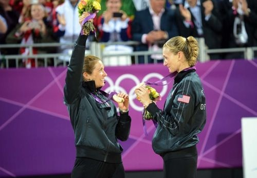 Kerri Walsh, Misty Treanor -  Beach Volleyball - Gold..Go Girls