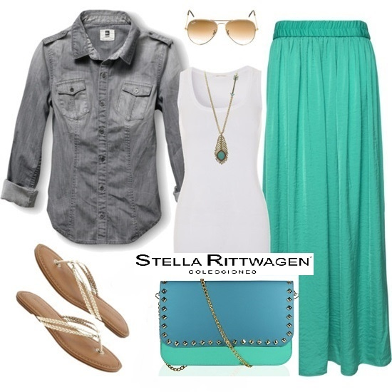 Summer outfit with Stella Rittwagen handbag :)