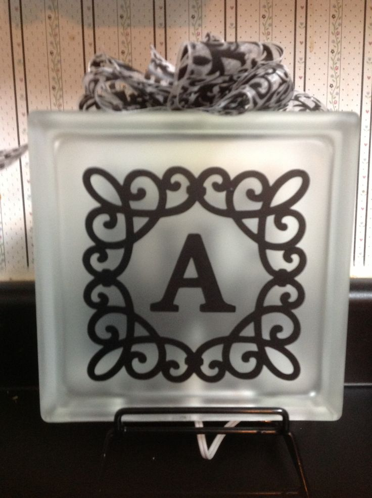 17 best images about vinyl ideas glass block on pinterest for Vinyl sayings for crafts