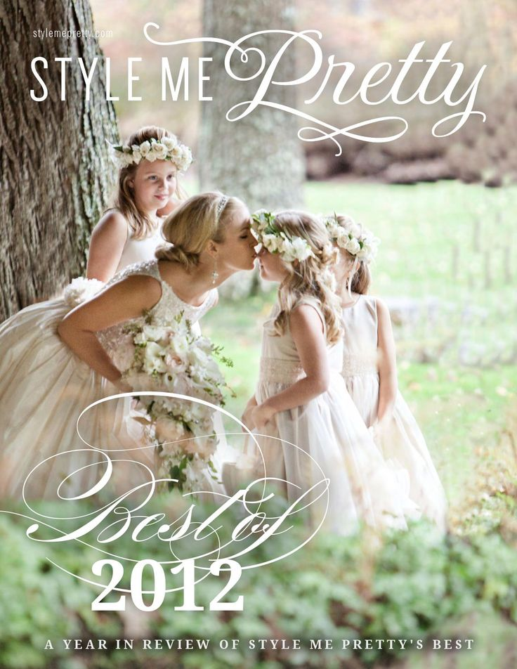 The Best Weddings of 2012 featured on Style Me Pretty: The Ultimate Wedding Blog.