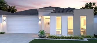 Bilderesultat for one floor house with integrated garage