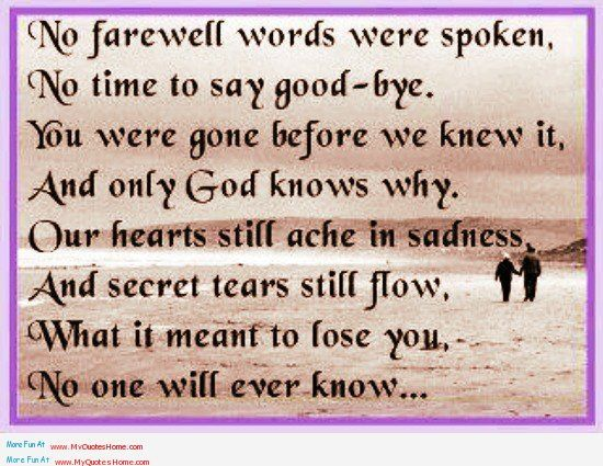 Tears From Heaven Quotes   ... - Miss you father quotes   My Quotes Home - Quotes About Inspiration