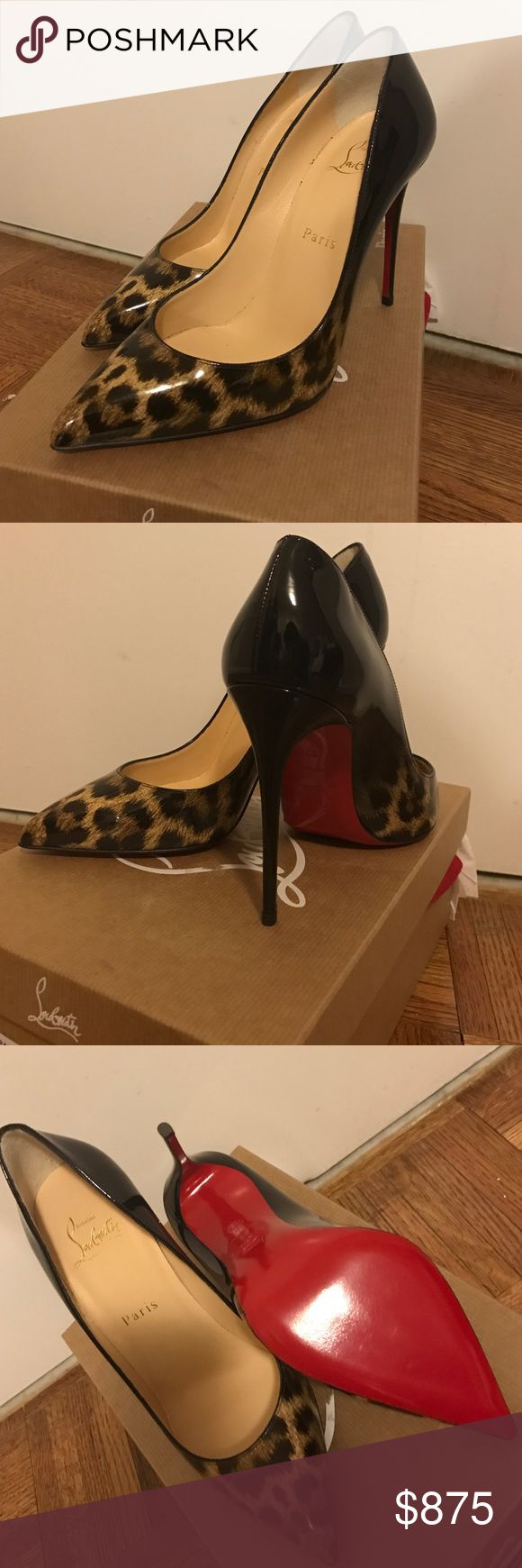 NIB Christian Louboutin Pigalle Follies Leopard Christian Louboutin Pigalle Follies leopard sold out everywhere! Brand New In Box. Never worn. 100mm. Includes box, heel caps, and dust bag. Price is firm! Christian Louboutin Shoes Heels