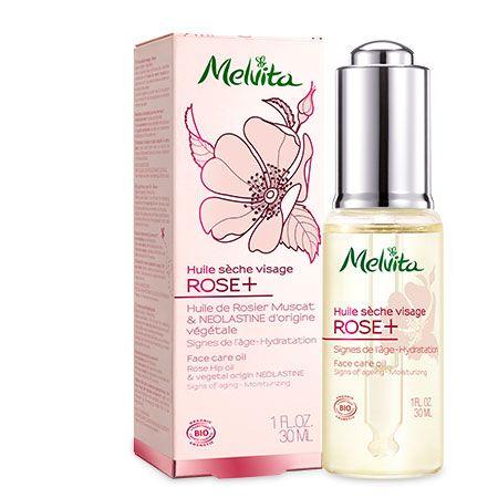 "Huile sèche visage ""Rose +"" de Melvita"