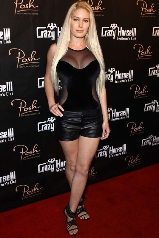 Heidi Montag style: Heidi's fashion history... lots of style fails.