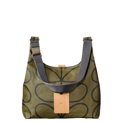The Orla Kiely Midi Sling Bag with the classic Giant Linear Stem Print is new this season. Give as a gift to your self or to the stylish practical woman in your life. Australia wide delivery. On sale while stocks last.
