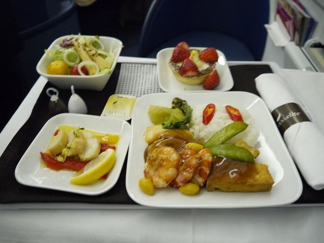 Delta Business Elite In-flight Meal