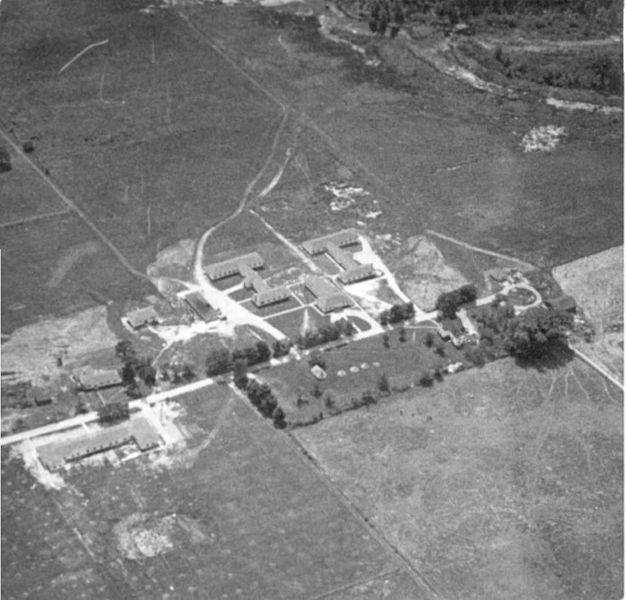 This picture shows the top secret base of Camp X in Ontario. This base was a training facility for new recruits who were trained for the Special Operations Executive of the British Security Coordination. This base trained allied agents in the art of secret warfare. Camp X was also home to Hydra, an organization which operated as a communication network for delivering messages between Canada, United States and Great Britain. Its isolation makes it an ideal location to keep government secrets.