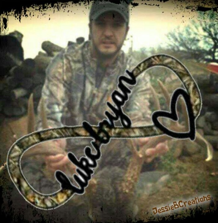Without Luke Bryan and just the heart and camo as a couple tattoo. Mine pink his brown. :)