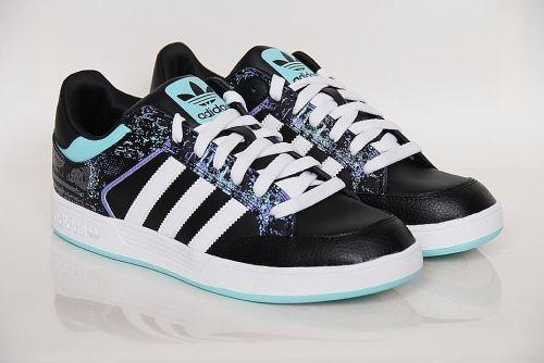 adidas Originals - varial low Black / Running White / Ocean (G56367)