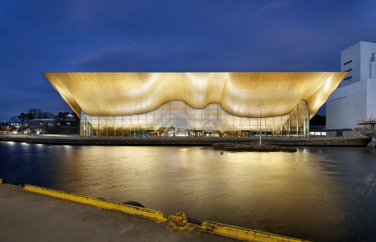 Kilden Performing Arts Centre, Norway  http://www.arqa.com/?p=342473