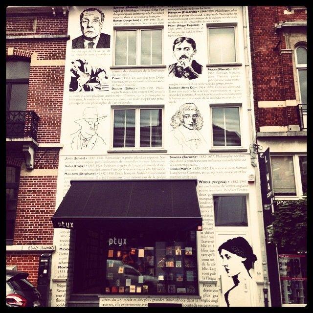 Librairie ptyx in Brussel (Elsene), Bruxelles-Capitale