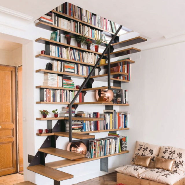 I Want To Install Bookshelves In My Stairway--making Use
