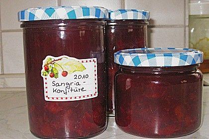 Sangria - Konfitüre (Rezept mit Bild) von hp-schlegl | Chefkoch.de